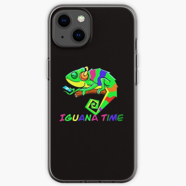 IGUANA TIME Birthday Gift iPhone Soft Case