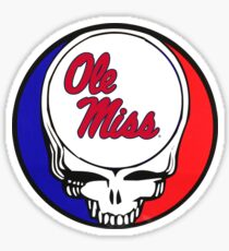 Ole Miss Steal Your Face Sticker