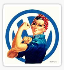Vw Rosie ( We can do it) Sticker