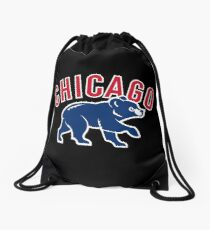 Chicago cubs Drawstring Bag