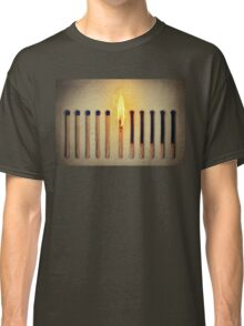 burning alone Classic T-Shirt