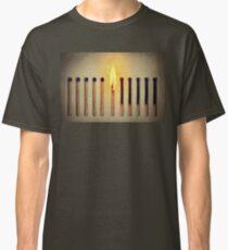 burning alone Classic T-Shirt