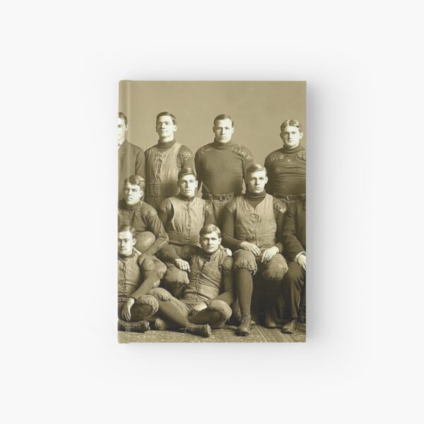 The 1905 Michigan football team. Won every game that year- except one Hardcover Journal