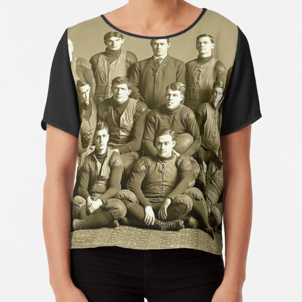 The 1905 Michigan football team. Won every game that year- except one Chiffon Top