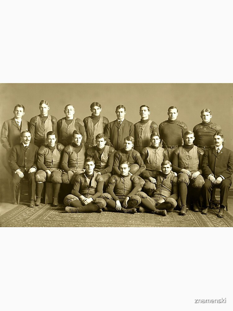 The 1905 Michigan football team. Won every game that year- except one by znamenski