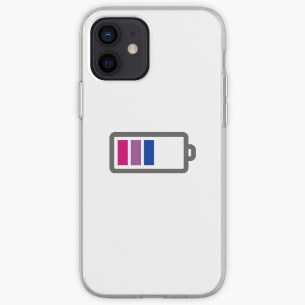 Bisexual Pride Flag Battery Bars iPhone Soft Case