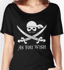Princess Bride - Dread Pirate Roberts Women's Relaxed Fit T-Shirt