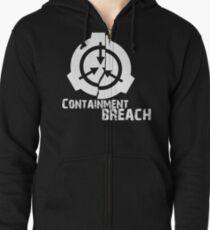 SCP Breach Zipped Hoodie