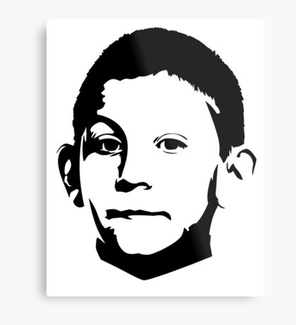 Dewey Malcolm in The Middle Metal Print