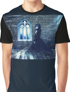 Haunted Interior and Ghost 2 Graphic T-Shirt