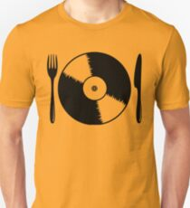 Record with cutlery T-Shirt