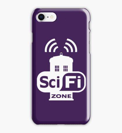 Sci-Fi ZONE White iPhone Case/Skin