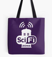 Sci-Fi ZONE White Tote Bag