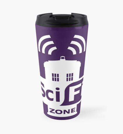 Sci-Fi ZONE White Travel Mug