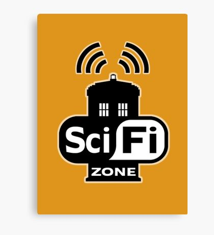 Sci-Fi Zone 2 Canvas Print