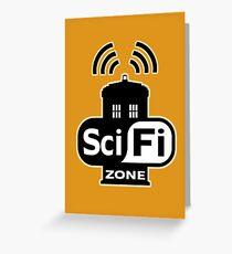 Sci-Fi Zone 2 Greeting Card