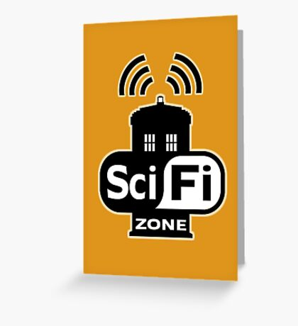 Sci-Fi Zone 2 Greeting Card