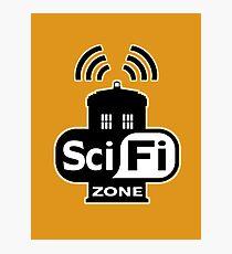 Sci-Fi Zone 2 Photographic Print