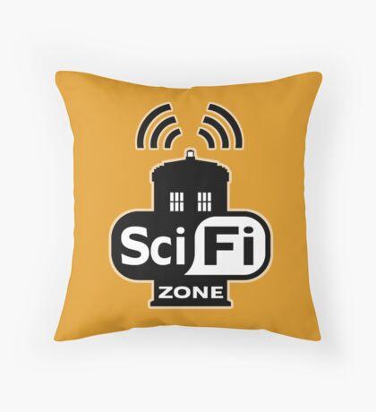 Sci-Fi Zone 2 Throw Pillow