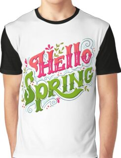Hello spring Graphic T-Shirt