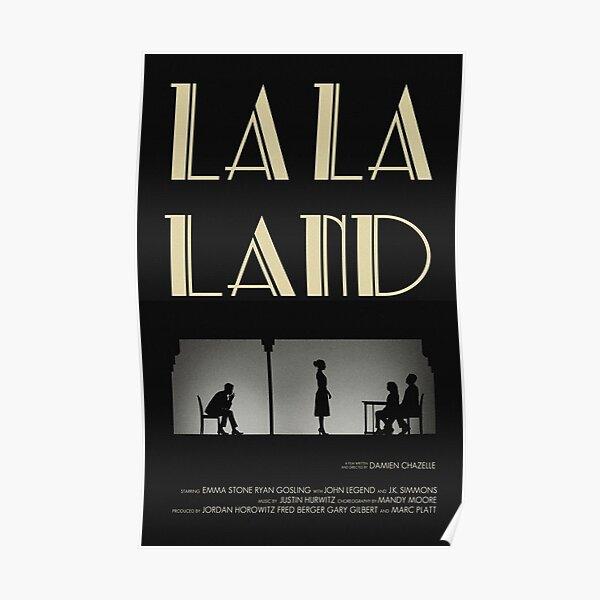 la la land poster Poster