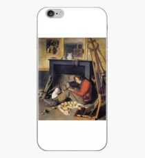 Octave Tassaert - Studio Interior iPhone Case