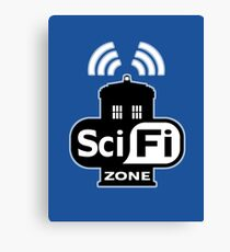Sci Fi ZONE Canvas Print