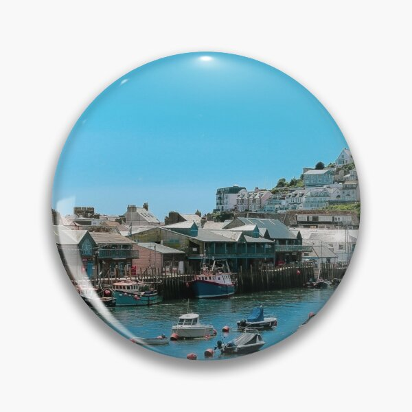 Looe Harbour, Cornwall, UK Pin