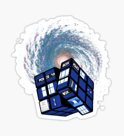 TARDIS CUBE Sticker