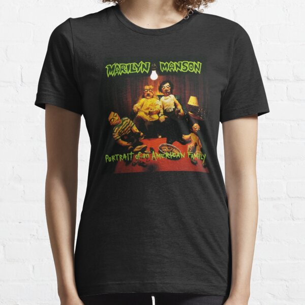 Marilyn Manson Portrait Of An American Family album cover 820 Essential T-Shirt