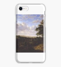 Patrick Nasmyth - View on the Thames, Greenwich in the Distance iPhone Case/Skin
