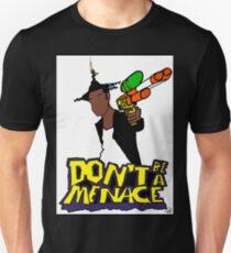 Camiseta ajustada No seas una amenaza
