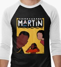 Martin (Gelb) Baseballshirt für Männer