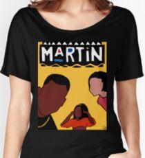 Martin (Yellow) Women's Relaxed Fit T-Shirt