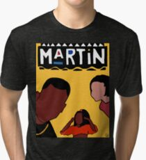 Martin (Yellow) Tri-blend T-Shirt