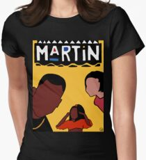 Martin (Yellow) Women's Fitted T-Shirt