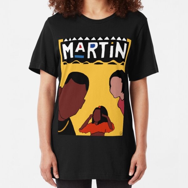 Marty Mar (Yellow) Slim Fit T-Shirt