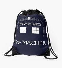 TIME MACHINE Drawstring Bag