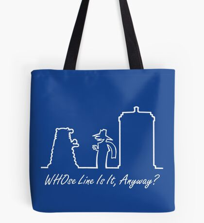 WHOse Line Is It, Anyway? Tote Bag
