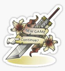Continue? Sticker