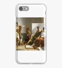 Pierre-Narcisse Guerin - Phaedra and Hippolytus  iPhone Case/Skin