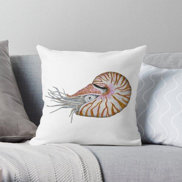 Nautilus version 7 Throw Pillow