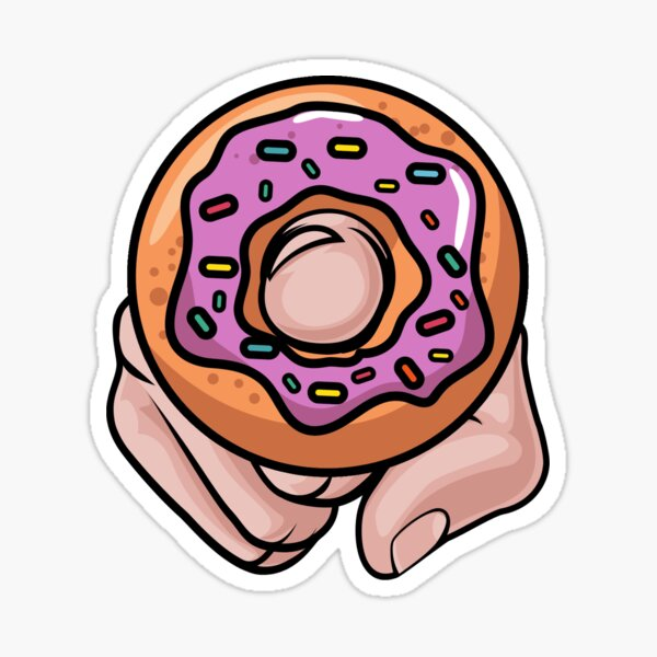 Donut Love Sticker