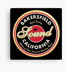 Bakersfield  California Country  Vintage Canvas Print