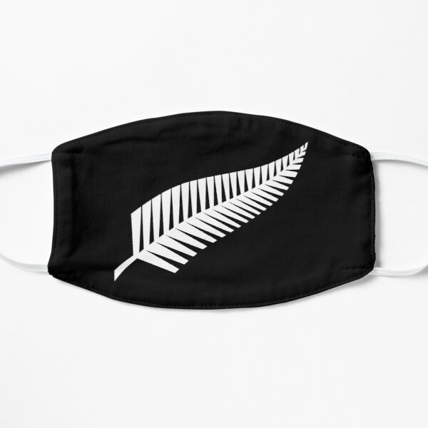 The All Blacks Flag Flat Mask