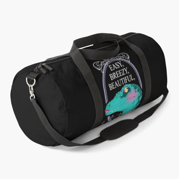Easy Breezy Beautiful Clever  Duffle Bag