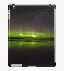 Shawbost shore aurora reflections.  iPad Case/Skin