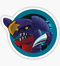 Grrrrr-chomp! Sticker