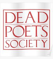 LIT NERD :: DEAD POETS SOCIETY Poster