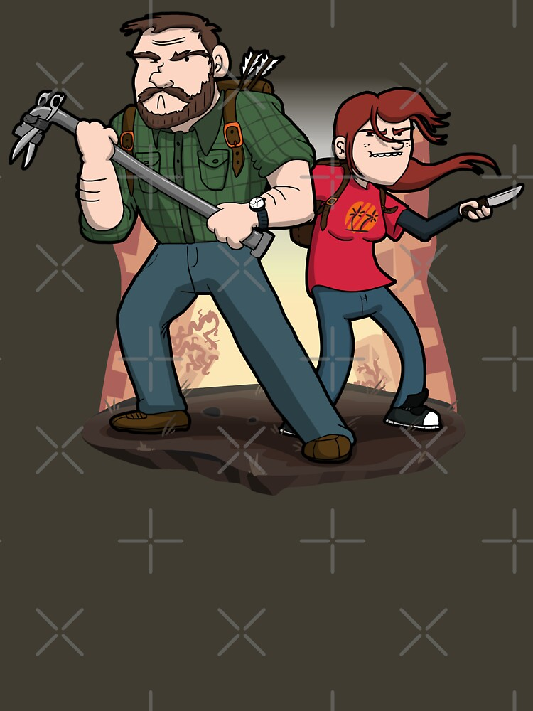 Post-Apocalyptic Dynamic Duo! by Aniforce